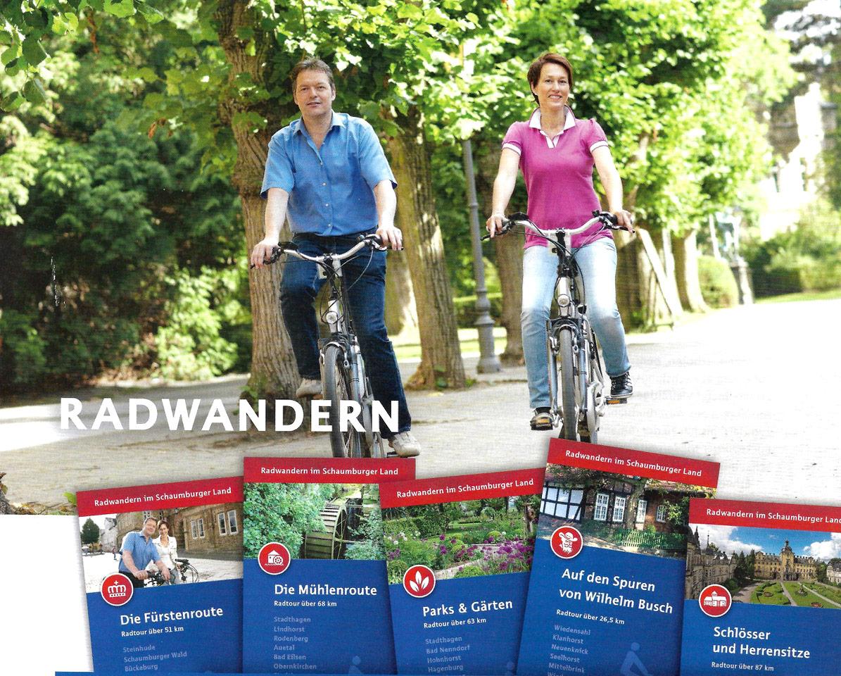 Radwandern in Schaumburg