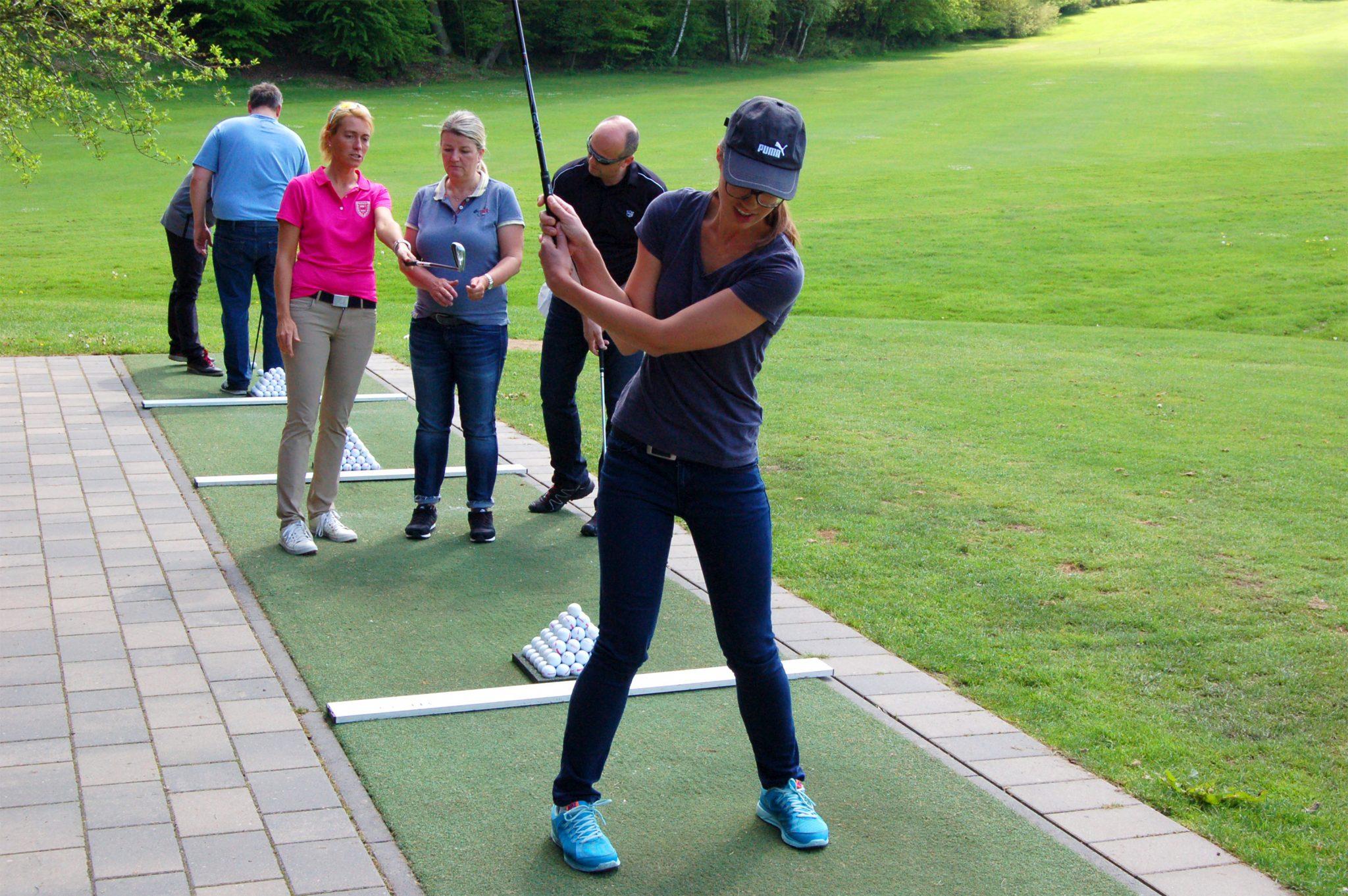 Schnupperkurs im Golfclub Schaumburg - Golf lernen